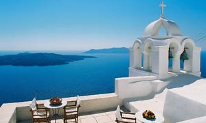 Santorini - thiên đường tình yêu
