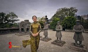 Kiến trúc xa hoa khác biệt ở Huế