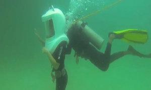 Trải nghiệm lặn biển mũ đồng ở Nha Trang