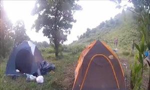 Trải nghiệm cắm trại trên núi Hàm Lợn