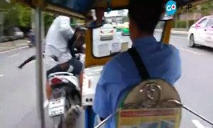 Ám hiệu để cướp túi xách nhanh như chớp ở Bangkok