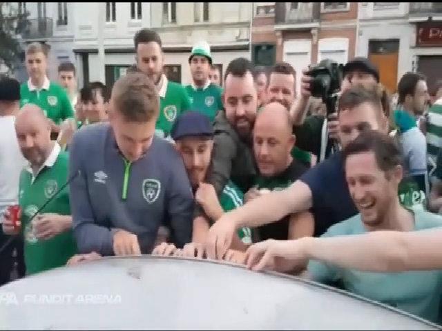 Cổ động viên Ireland
