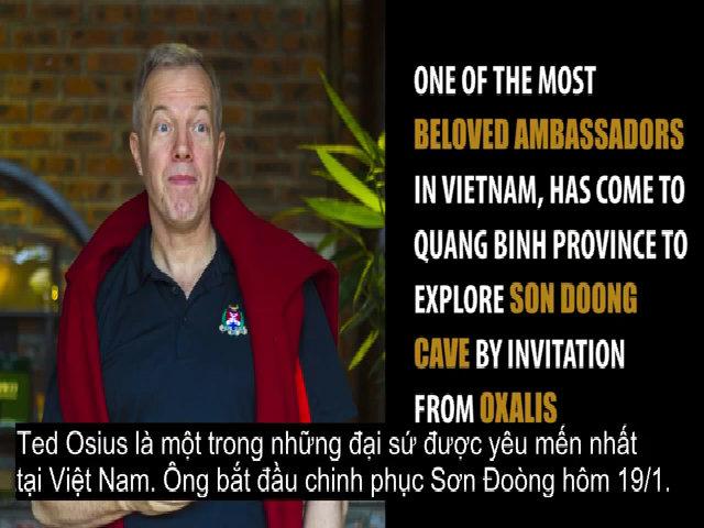 Đại sứ Mỹ lên đường khám phá Sơn Đoòng