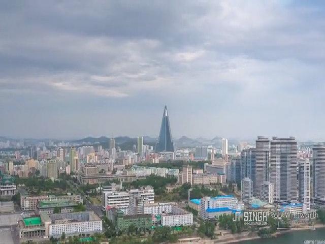 'Đột nhập' thủ đô Bình Nhưỡng