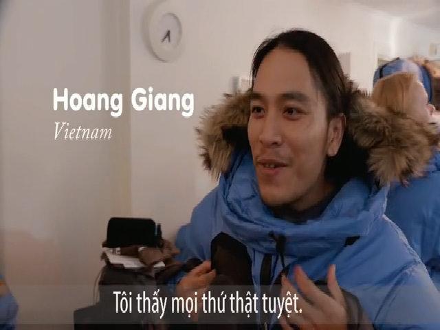 Phượt thủ Việt chinh phục Bắc Cực khắc nghiệt