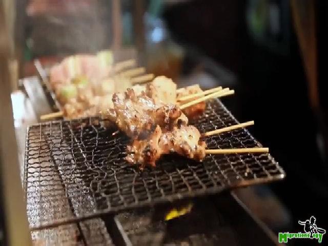 Vị than trắng trong các món nướng trứ danh Nhật
