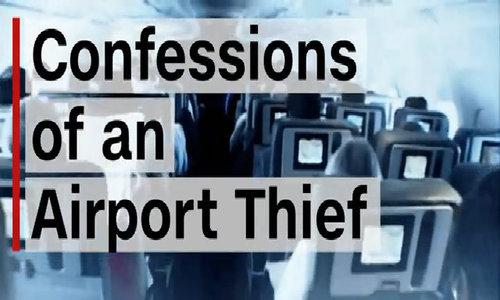 Đường dây ăn trộm quy mô lớn tại sân bay Mỹ - Video Embed
