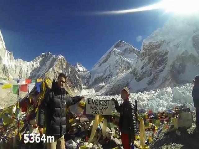 Trekking tới Everest Base Camp