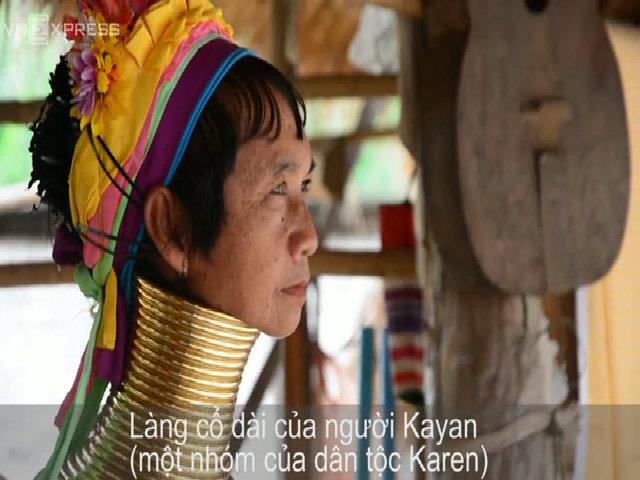 Cuộc sống của những cô gái cổ dài ở Chiang Mai