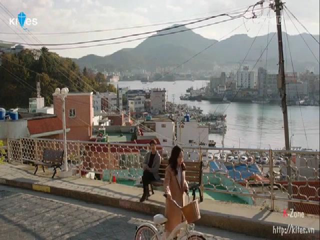 Cảnh kết phim 'Nice Guy' ở làng bích họa Dongpirang