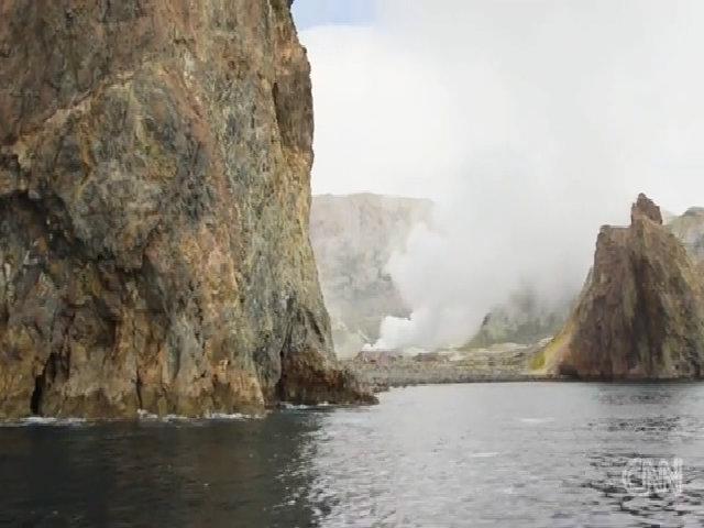 Núi lửa trên biển duy nhất của New Zealand