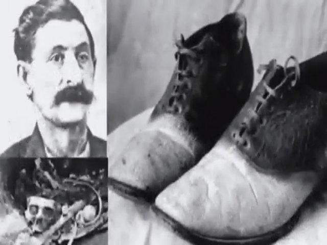 George Mũi To - tên cướp khét tiếng bị biến thành đôi giày da