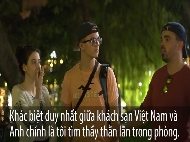 Khách sạn Việt Nam được mấy điểm trong mắt khách Tây?