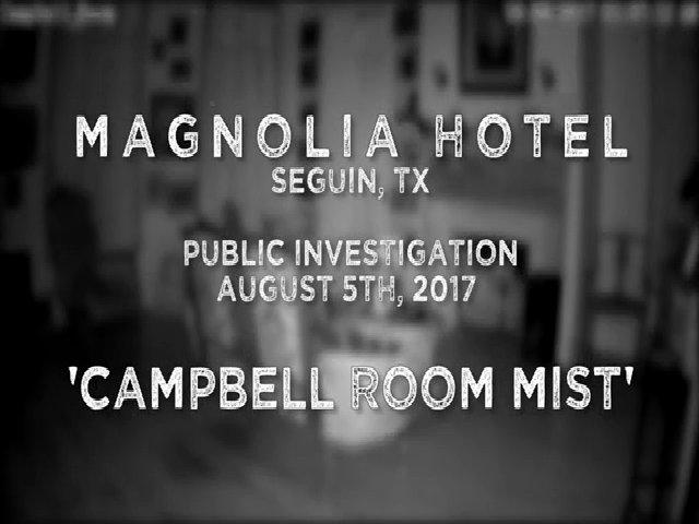 Màn sương bí ẩn xuất hiện trong khách sạn ma ám tại Mỹ