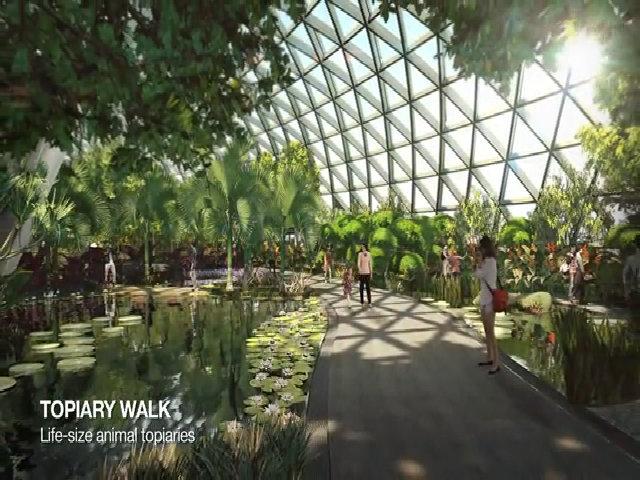 Công viên mới trong sân bay tốt nhất thế giới
