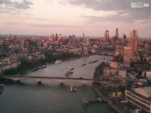 Vẻ đẹp của thủ đô London với góc nhìn trên cao