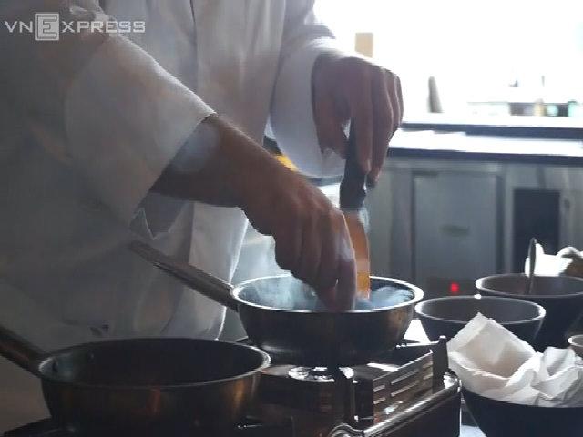Đầu bếp sao Michelin đưa gia vị châu Á và ẩm thực Pháp