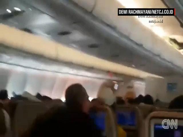 Hành khách la hét trên chuyến bay