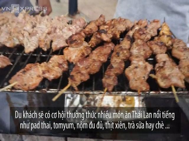 Cuối tuần no bụng, vui mắt với lễ hội Thái Lan tại Hà Nội