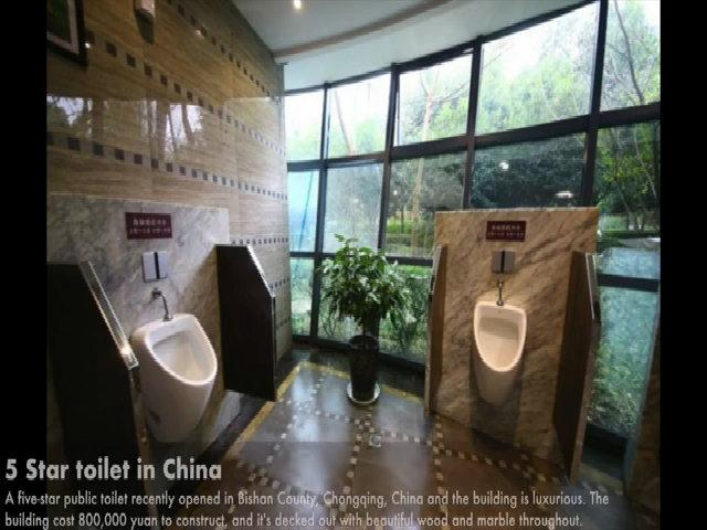 Toilet lộ thiên - thiên đường cho những kẻ biến thái tại Trung Quốc