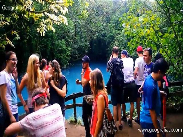 Dòng sông có khả năng gây ảo ảnh thị giác ở Costa Rica