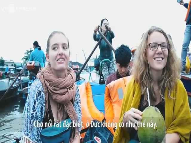 Du khách và người dân nói về chợ nổi Cái Răng ở Cần Thơ