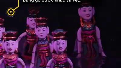 Múa rối nước Việt Nam được giới thiệu trên báo nước ngoài