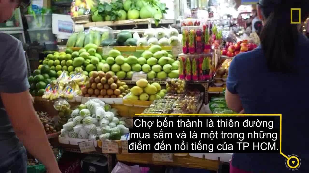 Báo Mỹ giới thiệu chợ Bến Thành là điểm đến không thể bỏ qua