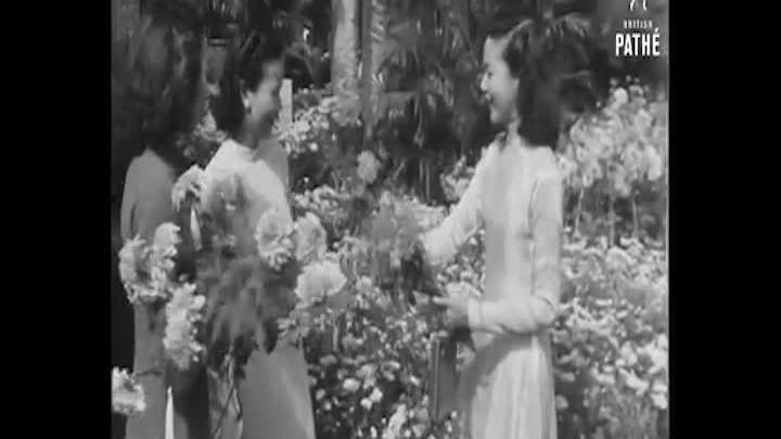Thước phim hiếm về Tết Nguyên đán ở Việt Nam những năm 1950