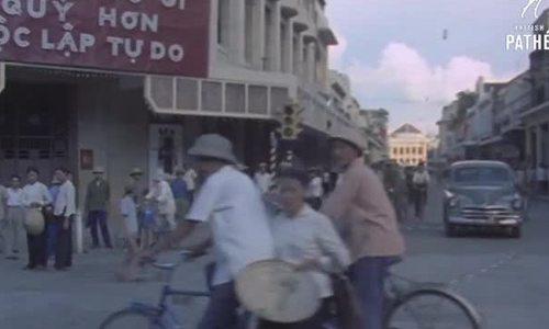 Đường phố/Giao thông thủ đô Hà Nội 50 năm trước