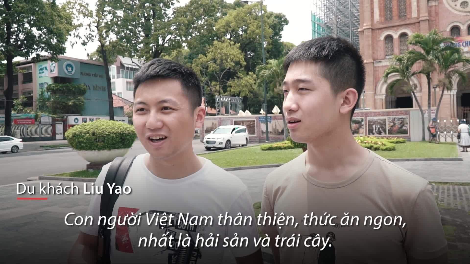 Vì sao khách Trung Quốc thích đến Việt Nam?