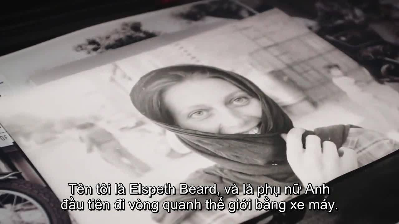 Nữ du khách Anh đầu tiên đi xe máy vòng quanh thế giới