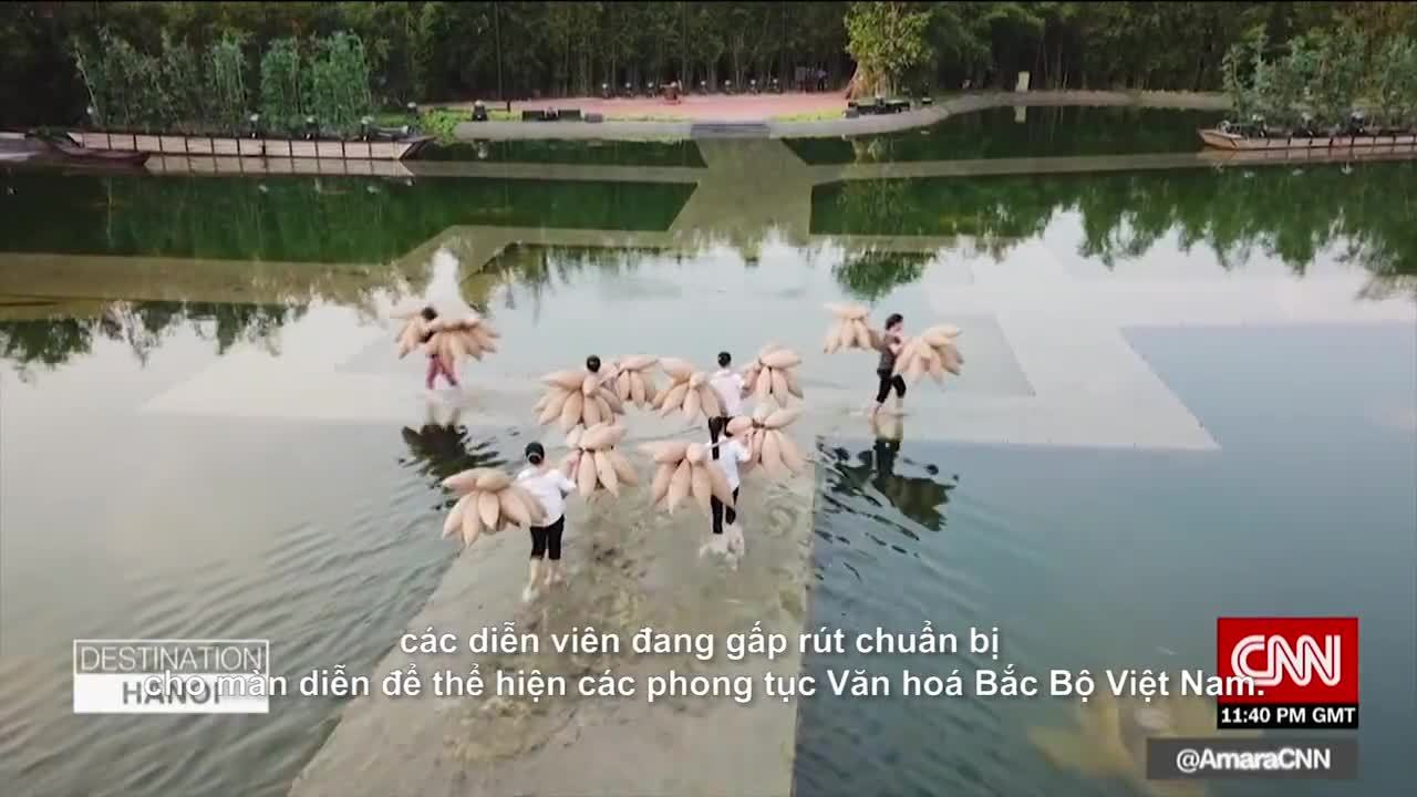 Show diễn thực cảnh đầu tiên của Việt Nam lên truyền hình Mỹ