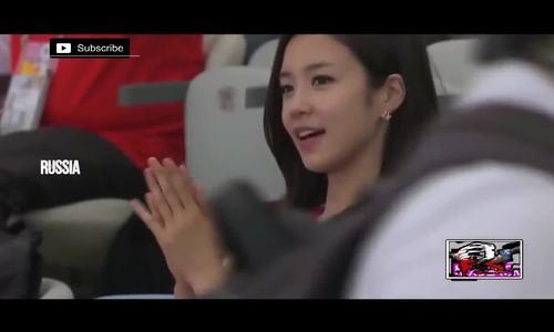 Những nữ du khách quyến rũ nhất đến Nga xem World Cup