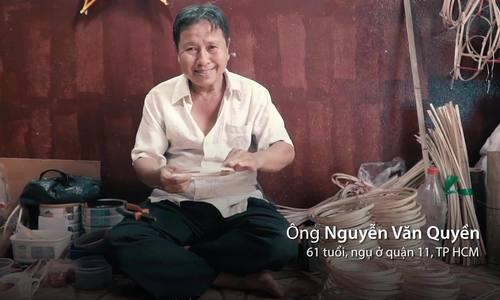 Đôi vợ chồng làm lồng đèn truyền thống hơn 20 năm ở Sài Gòn