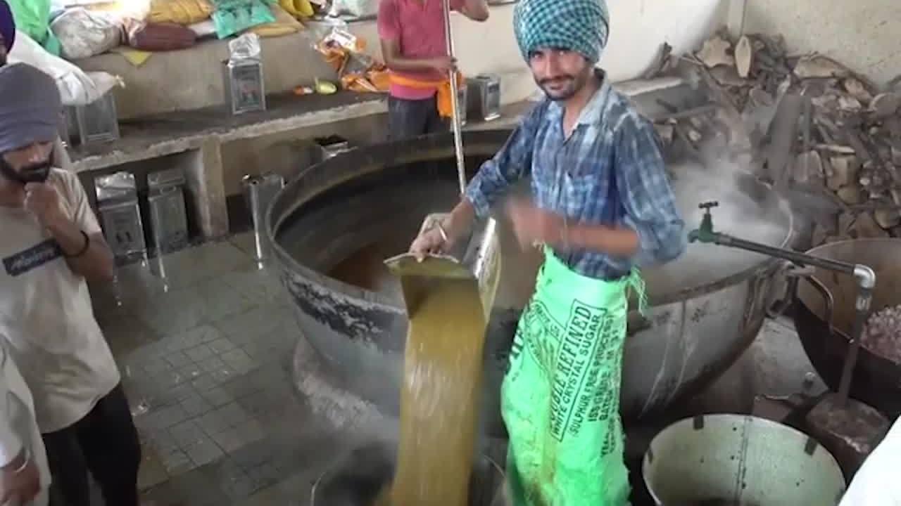 Cách người Ấn Độ nấu ăn cho 40.000 người một ngày