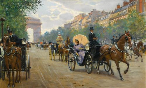Đại lộ Champs Elyees