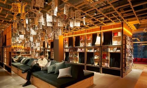 Nhà nghỉ ngập tràn sách độc đáo ở Nhật Bản