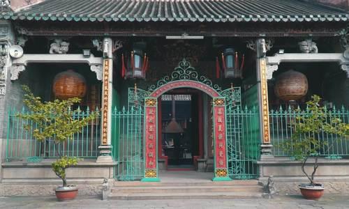 60 giây khám phá ngôi chùa hơn 250 tuổi ở Sài Gòn