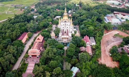 Ngôi chùa không bao giờ thắp nhang ở ngoại ô Sài Gòn