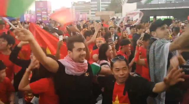CĐV Jordan thậm chí không nghĩ Việt Nam sẽ vượt qua vòng bảng