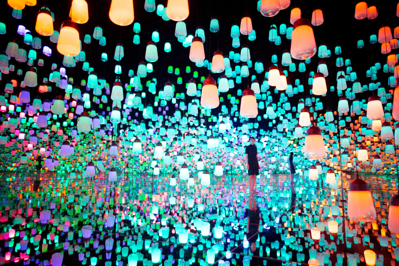 Bảo tàng ánh sáng 3D đầu tiên trên thế giới