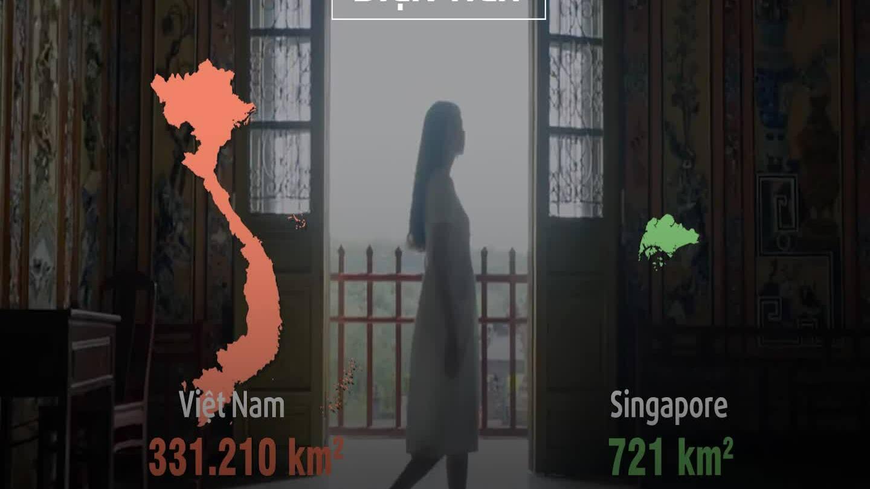 Những cách biệt của du lịch Việt Nam so với Singapore
