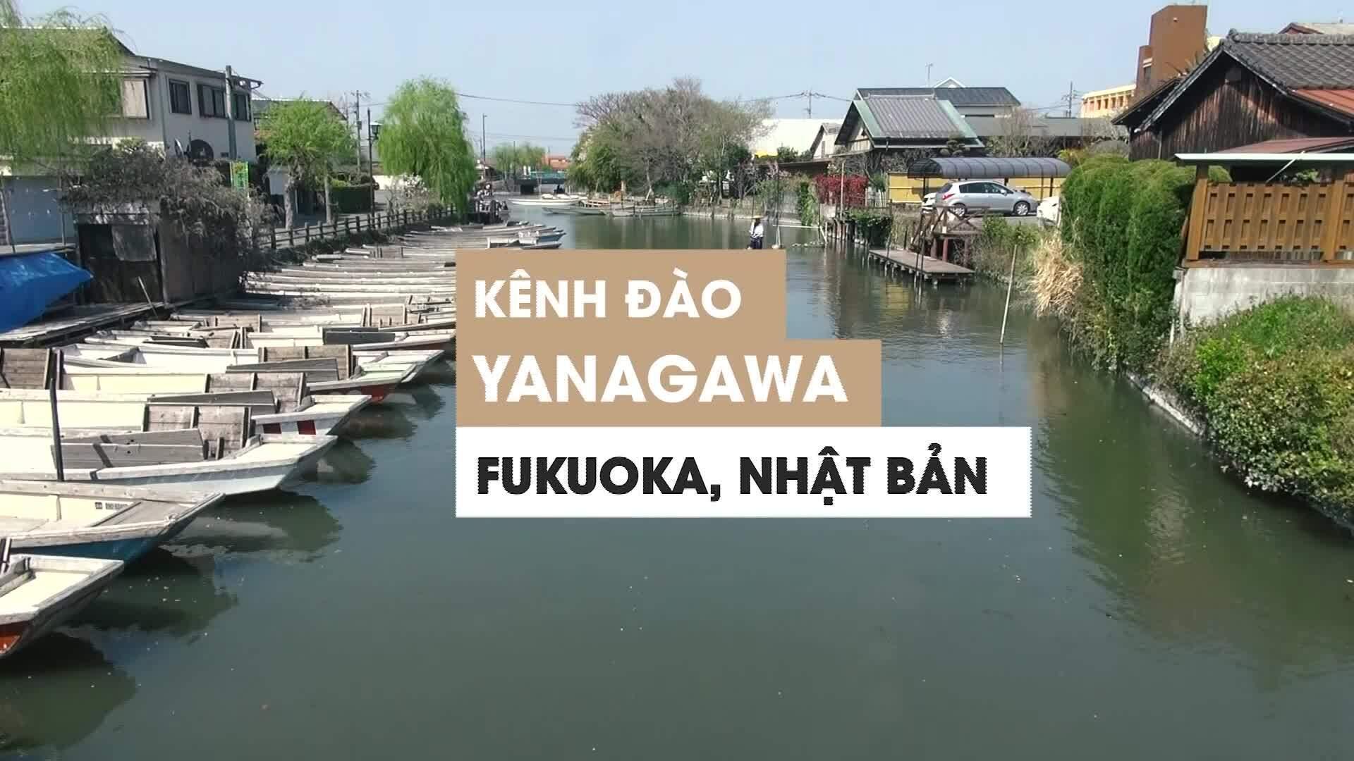 Ngồi thuyền khám phá 'Venice của Nhật Bản'