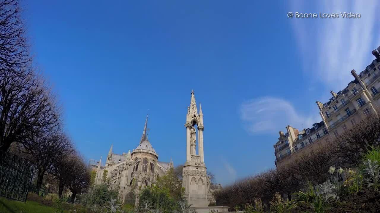 Bên trong nhà thờ Đức Bà Paris trước khi bị cháy