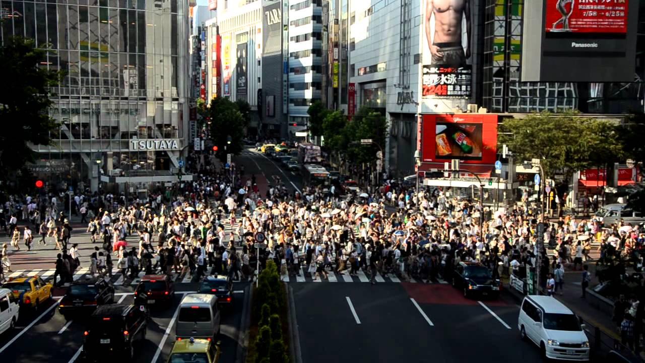 Đại giao lộ nơi hơn 2 triệu người qua đường một ngày ở Tokyo