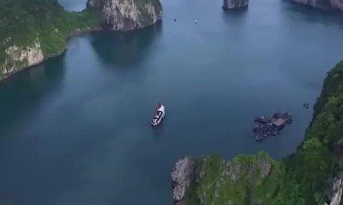 Vịnh Hạ Long được khách quốc tế ví như vùng đất cổ tích