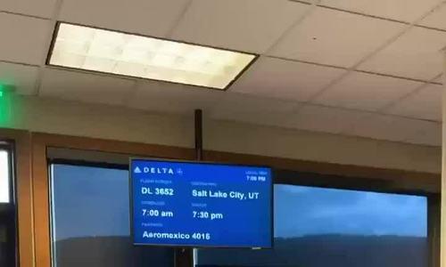 Hành khách bất ngờ khi phát hiện chỉ có một mình trên máy bay