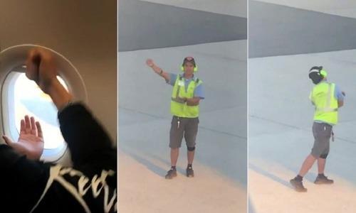 Khách Mỹ nổi tiếng nhờ chơi oẳn tù tì với người lạ tại sân bay