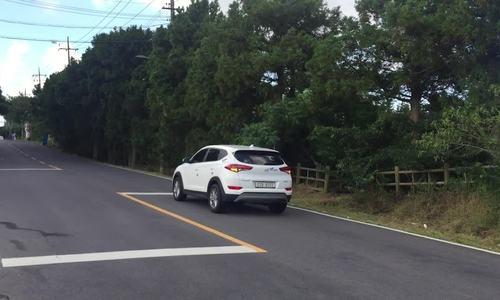 Con đường bí ẩn tự đẩy ô tô lên dốc ở Hàn Quốc